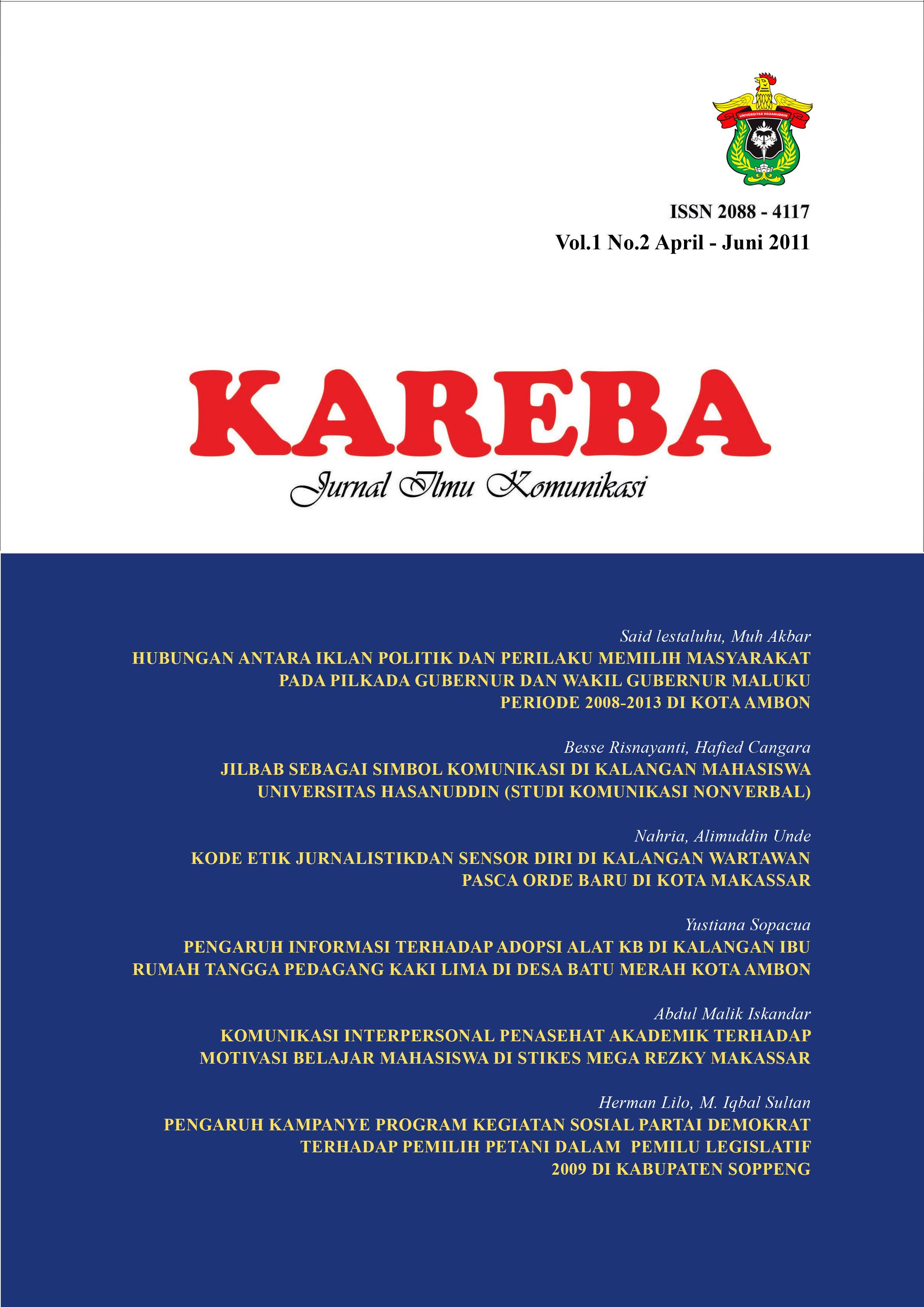 View Vol.1 No.2 April - Juni 2011