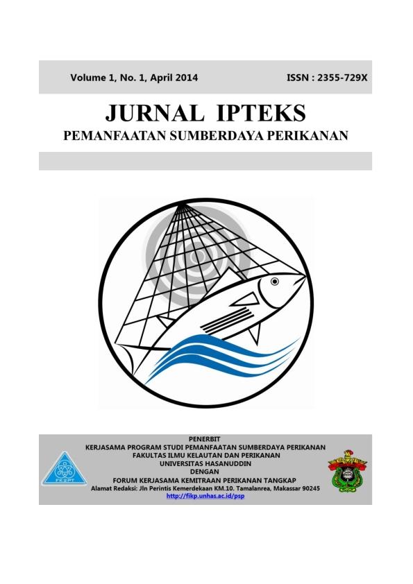 Jurnal IPTEKS PSP Vol. 1 No. 1