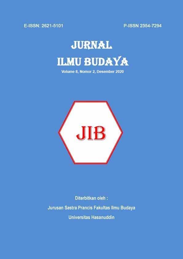 View Vol. 8 No. 2 (2020): Jurnal Ilmu Budaya