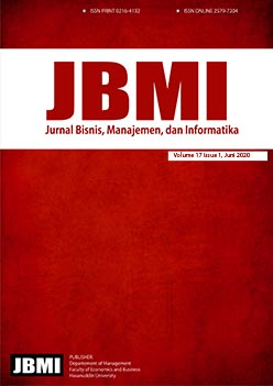View Vol. 17 No. 1 (2020): JBMI