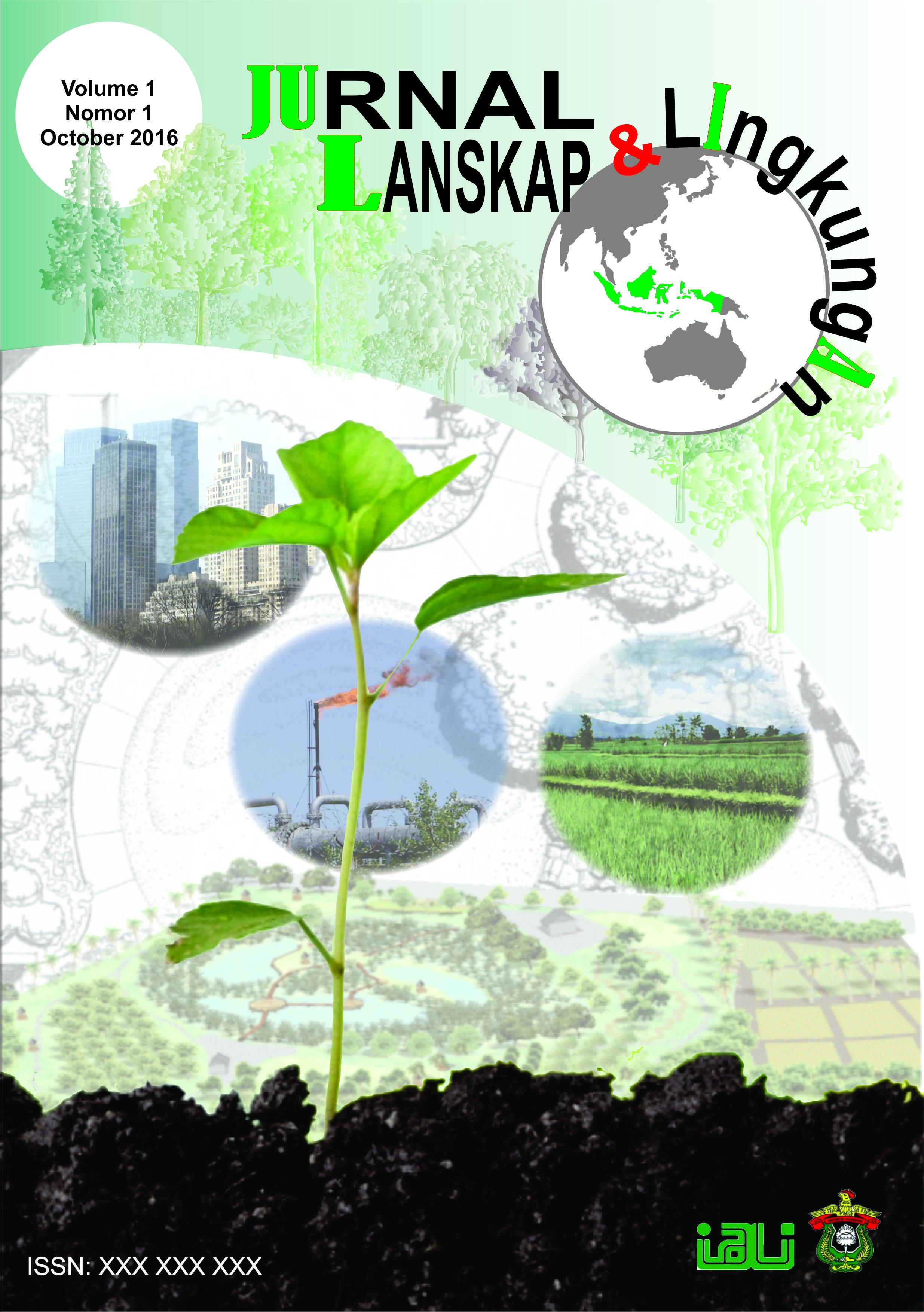 Jurnal Lanskap dan Lingkungan (JULIA) bertujuan untuk menyebarluaskan informasi, memberikan kontribusi yang membahas segala aspek dengan lansekap dan lingkungan. Lingkup kajian menyangkut perencanaan, desain, pembangunan dan pengelolaan lanskap dan lingku