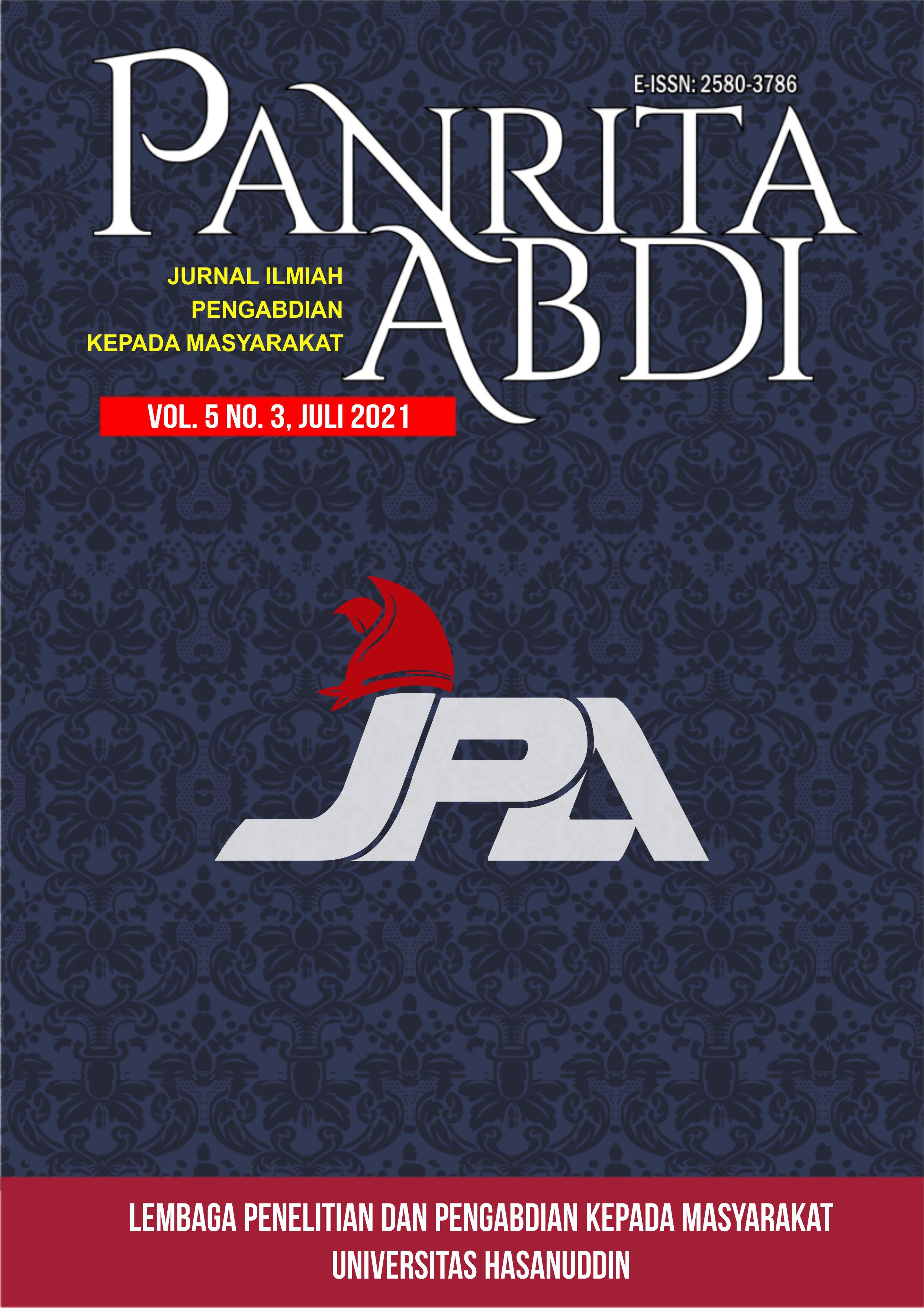 View Vol. 5 No. 3 (2021): Jurnal Panrita Abdi - Juli 2021