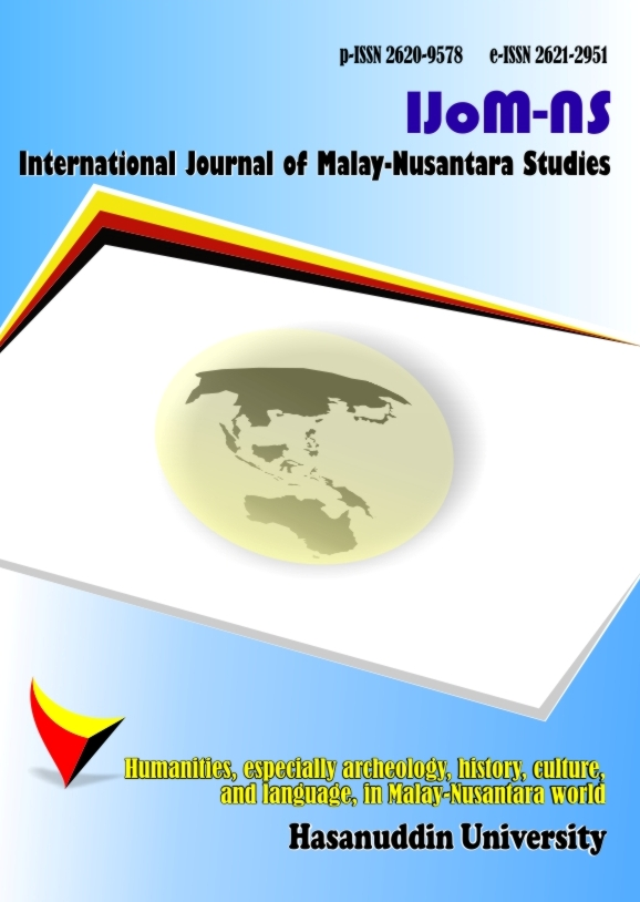View Vol. 1 No. 2 (2018): International Journal of Malay-Nusantara Studies