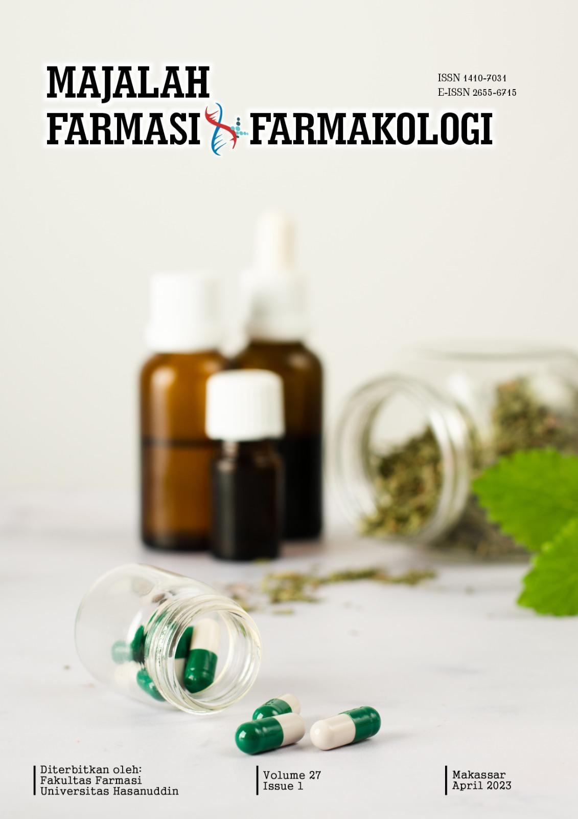 MAJALAH FARMASI DAN FARMAKOLOGI