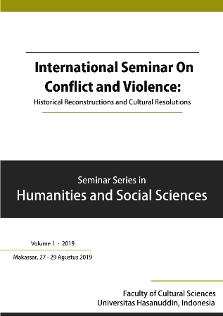 View No. 1 (2019): Proceeding International Seminar on Conflict and Violence: Historical Reconstructions and Cultural Resolutions